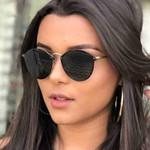 Luxury Vintage Round Gradient Sunglasses