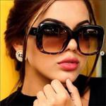 Designer Square Sunglasses Luxury Brand