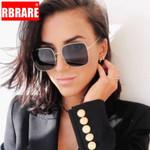 Classic Square Sunglasses Brand Designer Retro