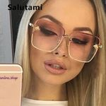 Retro Square Bee Sunglasses Brand Designer