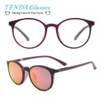 Plastic Round Retro Sun Glasses Polarized Clip On Sunglasses
