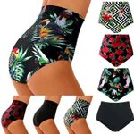 High Waist Swimsuit Bikini Bottoms Tankini Bottom