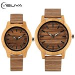 Leather Watches Watch Bamboo Wood