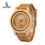 Bamboo Watch Wood Quartz Wristwatches