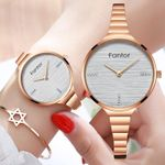 Fantor Top Brand Luxury Watch Rose Gold Small Dial