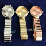 Luxury Fashion brand Watches Silver Gold Round