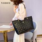 Fashion Handbag Shoulder PU Leather Large Capacity