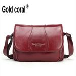 Leather Small Crossbody  Messenger Bags