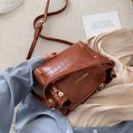 Quality Stone Pattern Leather Crossbody Bags