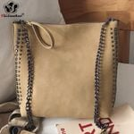 Fashion Rivet Shoulder Chain Crossbody Bags