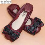 New Genuine leather Flats Fashion Casual Ballerina