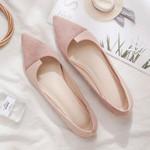 fashion OL custom spring new net red flat shoes peas