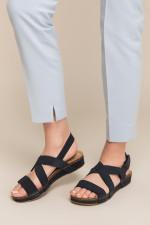 Pearl Dark Blue Sandals