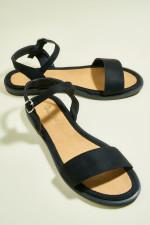 Bambi Black Sandals