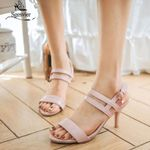 new sandals simple buckle fashion shoes big