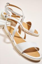 Bambi White Sandals