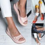 Leather Flats Shoes Casual New Mix Color Shoes