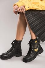 Pearl Black 'S Boots