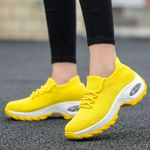 Shoes Yellow Sneakers Comfort Trainers