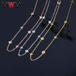 steel chain collier chocker long necklaces
