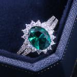 Romantic Plant Series Wedding Rings Luxury