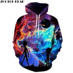 Galaxy Hoodies Hoody Sweatshirt