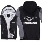 Ford Mustang Hoodies Jacket Unisex Casual