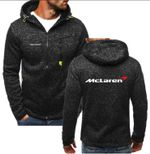 New Fashion Tesla McLaren Hoodie Zipper