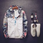 Jacket Spring New Coats Casual Floral Jackets