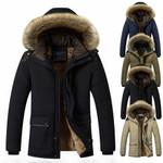 Down Jacket Fashion Thick Warm Parkas  Down Coat