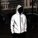 Full Reflective Jacket Light Hoodies