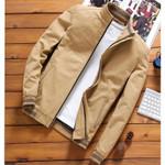 Slim Bomber Jackets Casual Outwear Windbreaker