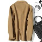 Double-sided Wool Coat Korean Woolen Jacket