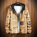 Spring Thin Windbreaker Jacket Reversible