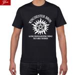 new tshirt Supernatural Winchester Bros Hip Hop