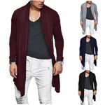 Stylish Knitted Cardigan Slim Fit Pleated Long Sleeve