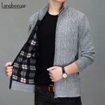 Thick Warm New Fashion Brand Sweater Cardigan