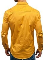 Long Sleeve Slim Brand Shirts Designer High Quality