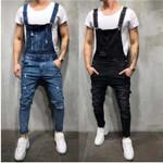 New Style Ripped Jeans Jumpsuits Hi Street Distressed Denim