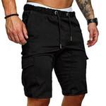 Cargo Shorts Cotton Bermuda  Style Straight