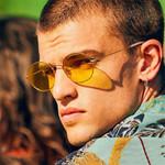 unisex sunglasses high quality yellow