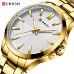 New Gold Watch Luxury Brand Analog Sport Watches