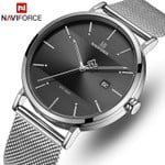 Top Brand Stainless Steel Mesh Quartz Watches