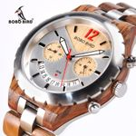 Elegant Wooden Watches Top Brand Luxury