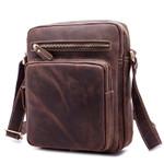 Shoulder Genuine Leather Small  Messenger Crossbody Bag