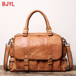 Hot Sale handbag Leather Portable Briefcase