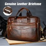 Leather Briefcase Genuine Leather Handbags
