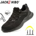Work Shoes Boots Steel Toe Boots Anti-Smashing