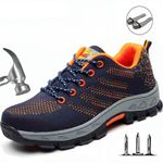 Steel Toe Boots Work Safety Plus Size Outdoor