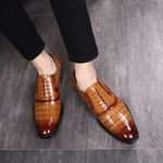 Luxury Business Business Dress Leather Shoes
